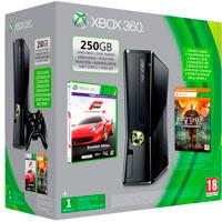 XBox 360 250G (Slim)+Forza 4+Ведьмак 2