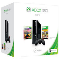 XBox 360E 250G (Slim)+Borderlands 2+Forza Horizon