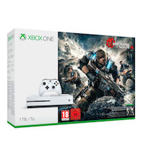 XBox One S 1TB, Gears of War 4